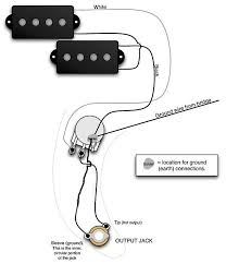 wiring diagram for fender p bass wiring diagram and schematic design