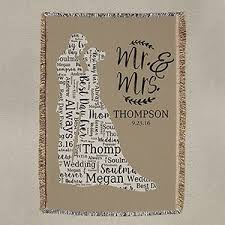 personalized wedding blankets affordable personalized gifts personalized gifts on sale