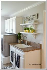 How To Decorate Your Laundry Room Laundry Room Tour The Idea Room