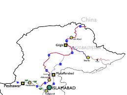 Karakoram Range Map Reconstruction Of The Karakoram Highway Wikipedia