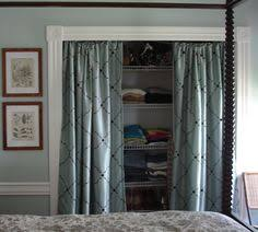 Sliding Door Curtains Create A New Look For Your Room With These Closet Door Ideas