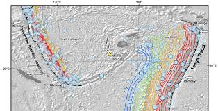 Earthquake World Map by M U003d7 0 Earthquake Off Of Fiji Might Have Triggered A M U003d5 6