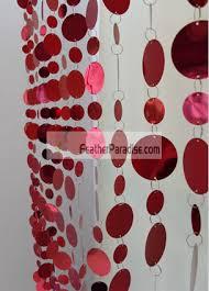 wholesale bulk discount cheap poly mirror garlands