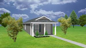 1 bedroom house plan cottage plansource inc