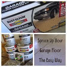 Concrete Epoxy Paint Floor Design Beautify Your Garage Decoration With Epoxy Rustoleum