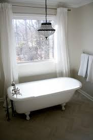 Chandelier Above Bathtub Master Bathroom Details And Sources What Emily Does