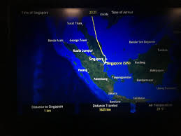 Singapore Air Route Map by Review Of Singapore Airlines Flight From Bangkok To Singapore In