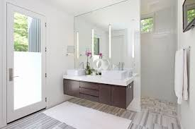 extension mirrors for with sinks bathroom contemporary and
