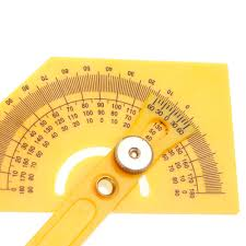 protractor angle finder with articulating arms folding ruler