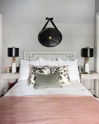 Grey White Pink Bedroom Pink Linen Sham Design Ideas