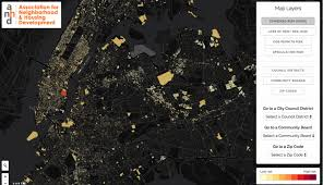 entry level jobs journalism nyc maps mapping displacement risk in nyc neighborhoods next city
