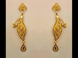 new fashion gold earrings gold earrings designs all new images collection