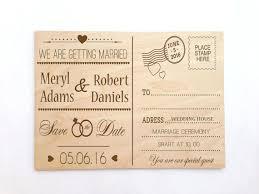 postcard wedding invitations postcard wedding invites simplo co