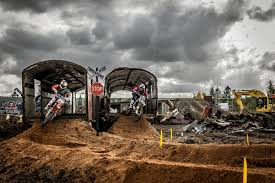 motocross bike breakers mx in a scrapyard can red bull breakers re raise the eyebrow