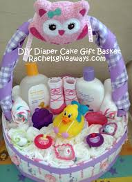 cake gift baskets baby shower gifts how to make a cake gift basket baby