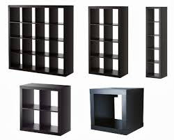 Cube Bookshelves Furniture Black Ikea Expedit Bookcase With Some Sizes For Smart