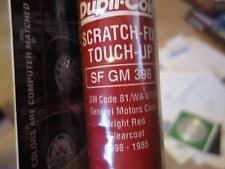 base coat red 12oz automotive touchup u0026 spray paint ebay