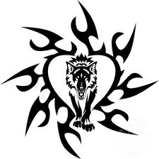 tribal wolf by hitenshi16 on deviantart