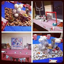 sports baby shower decorations interesting ideas sports themed baby shower decorations strikingly