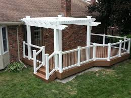 White Vinyl Pergola Kits by Vinyl Aluminum Pergola Kits Decks U0026 Fencing Contractor Talk