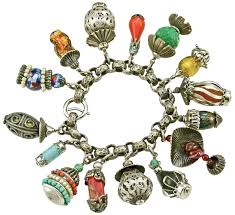Paris Themed Charm Bracelet Are You Bold And Brassy Enough To Wear Vintage Napier Jewelry
