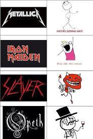 Metal Band Memes - 80 best metal images on pinterest guitars lyrics and ha ha