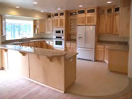 Natural Maple Kitchen Cabinets Rustic Maple