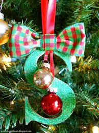 christmas ornaments with initials christmas ornaments 15 diy projects christmas ornament