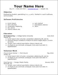 educational resume template free resume templates hirepowers net