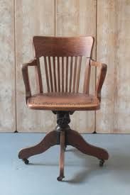 antique captains swivel and tilt chair vintage office chair lndn