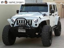 starwood motors jeep interior all the way from dubai rashid binjarn u0027s white jku is looking