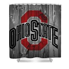 Ohio State Curtains Ohio State Buckeyes Shower Curtains America
