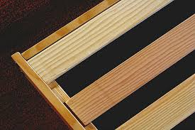 Slatted Frame Bed Solid Wood Slats For Bed Frames Sustainably Harvested In Usa