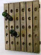 Barn Board Wine Rack Riddling Wood Wine Rack Ebay