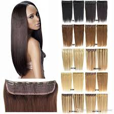 one hair extensions 110g pcs salon 5clips on one hair real human hair remy clip