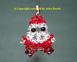 aries beads christmas ornaments