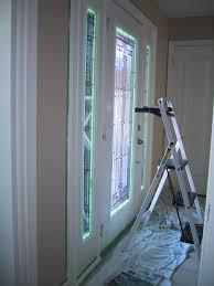 exterior replacement door u2013 part 15 u2013 painting the inside