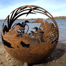 the fire pit fireball fire pits loon 37 5 inch fire globe 3715dl the