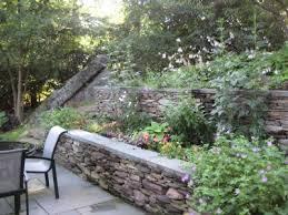 Steep Hill Backyard Ideas Idea For Steep Back Yard A Steep Hill Was Terraced Into A