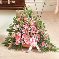 Flower Delivery Nyc And Prayers Fireside Basket Pink Flower Delivery Nyc Florist