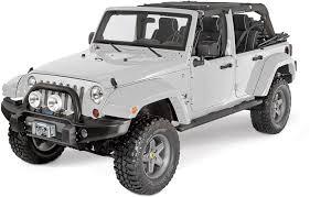 matte tan jeep bushwacker 11 75