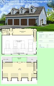 26 best garage and carriage house plans images on pinterest architectural designs garage plan 68439vr gives you room for 4 cars a full bath on