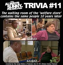 Welfare Meme - in it s always sunny in philadelphia the welfare store contains