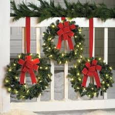 led wreaths wreaths battery operated led lights