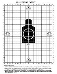 amazon com black rifle series 25 meter zero target sports
