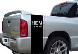 dodge ram decals canada product 2 hemi 5 7 liter stripe dodge ram truck vinyl decal sticker