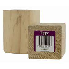 Sofa Leg Warehouse by Leggz 100mm Square Bun Foot Wooden Furniture Leg Bunnings Warehouse