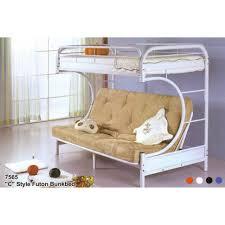 White Bunk Bed Frame Bedroom Furniture White Bunk Bed Detachable Metal Frame Bed Bed