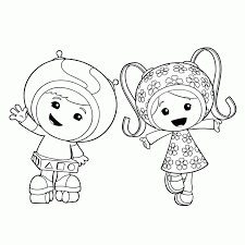 printable coloring pages team umizoomi coloring home