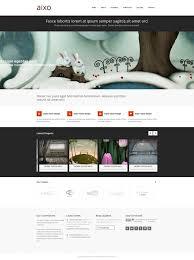 aixo responsive html template personal creative website